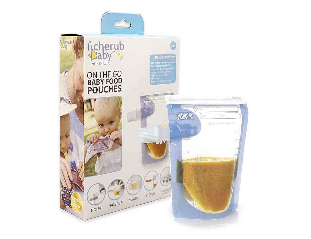 20-pack Cherub Baby klämpåse/matpåse