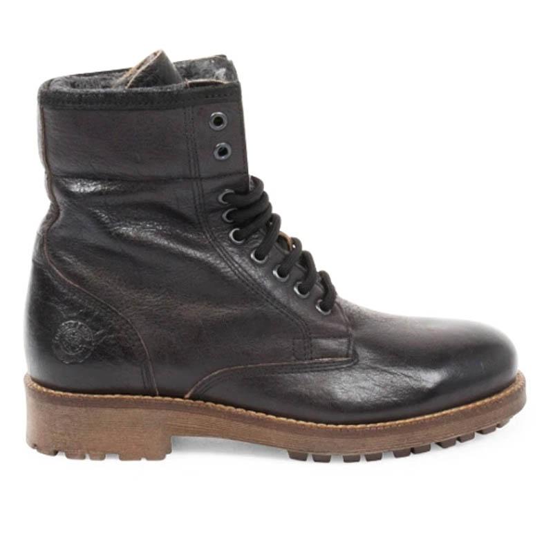Känga. Sneaky Steve Rusty Boots Dam Black Buffalo Stl: 39